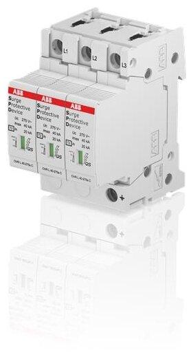 Устройство защиты от перенапряжения для систем энергоснабжения ABB 2CTB815704R1800