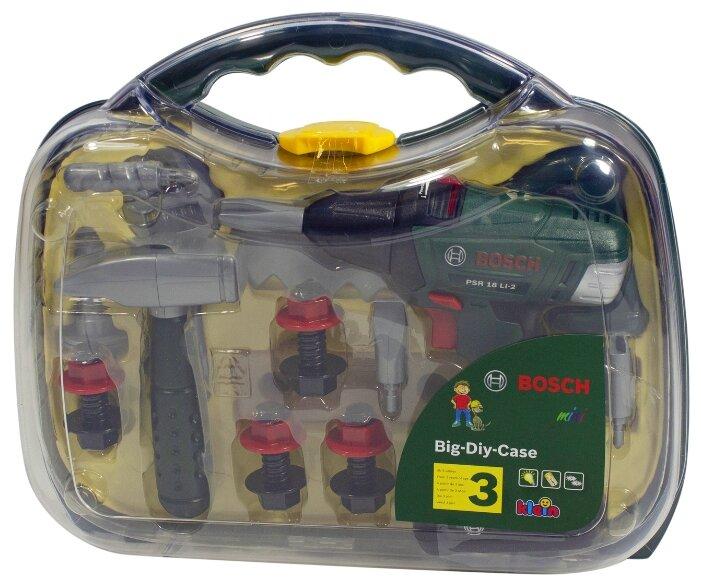 Klein Набор инструментов с шуруповертом в прозрачном кейсе 8584