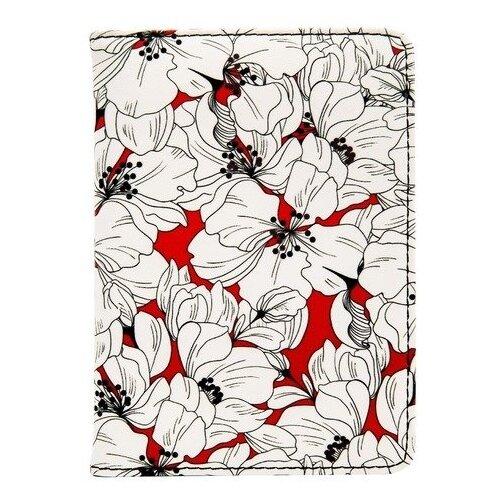 Обложка для паспорта InFolio Garden, разноцветный
