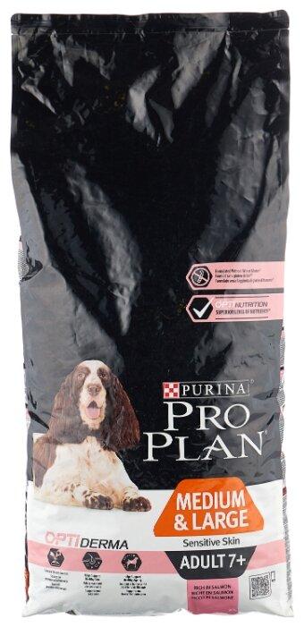 Корм для пожилых собак Pro Plan Optiderma