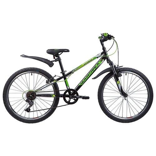 Подростковый горный (MTB) велосипед Novatrack Extreme 24 6 (2019) черный 10 (требует финальной сборки) novatrack extreme 24 черный