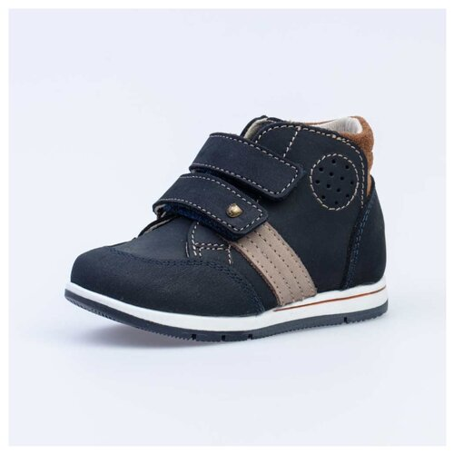 Ботинки КОТОФЕЙ размер 21, 21 синий ботинки chicco размер 21 синий