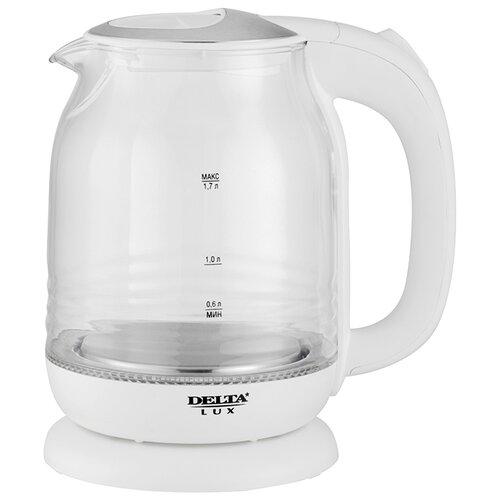 Чайник DELTA LUX DL-1206W, белый