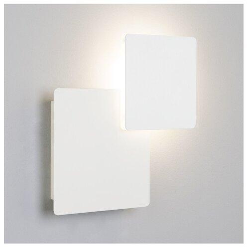 Настенный светильник Eurosvet Screw 40136/1 белый, 6 Вт светильник настенный eurosvet screw 40136 1 6w белый