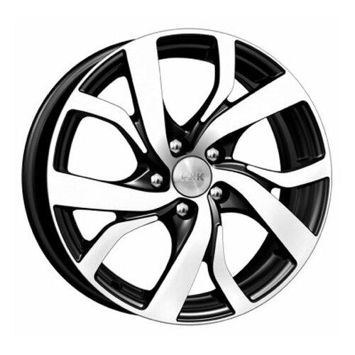 Фото - Колесный диск K&K Палермо 6х15/5х100 D67.1 ET45, Алмаз черный колесный диск k