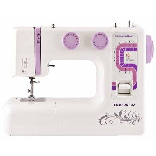 Швейная машина Comfort 32, бело-розовый швейная машина comfort 18 белый