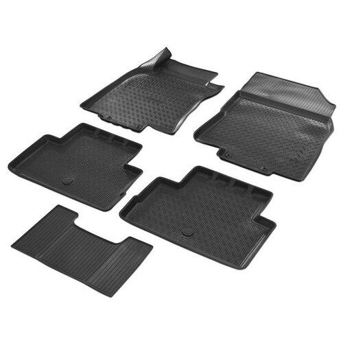 Комплект ковриков RIVAL 14105004 Nissan Qashqai 5 шт. черный