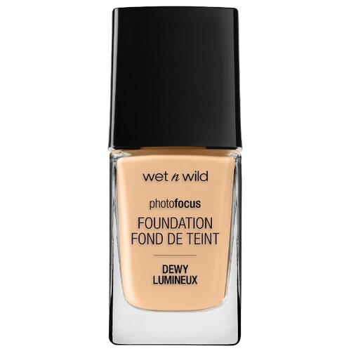 Wet n Wild Тональный крем Photo Focus Dewy Foundation, 28 мл, оттенок: soft beige