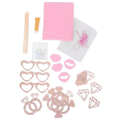 Арт Узор Набор для декора праздника Сладость дня розовый