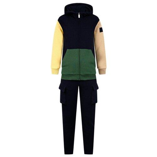 Купить Комплект одежды Il Gufo размер 128, синий, Комплекты и форма