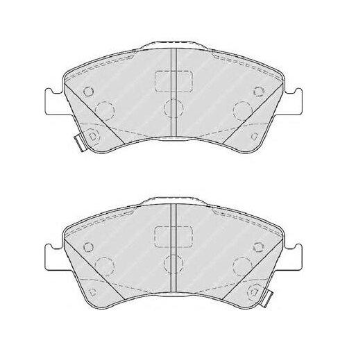Фото - Дисковые тормозные колодки передние Bosch 0986495106 для Toyota Avensis (4 шт.) дисковые тормозные колодки передние nibk pn1521 для toyota camry 4 шт