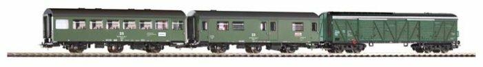 PIKO Набор из трех вагонов Stoffzug, серия Classic-Professional, 58316, H0 (1:87)