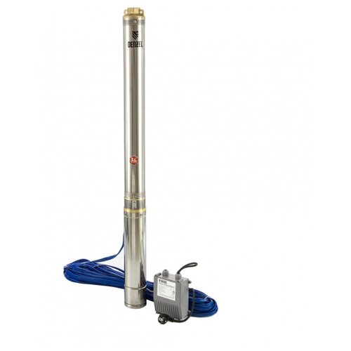 Скважинный насос Denzel DWC-4-140 (2000 Вт)