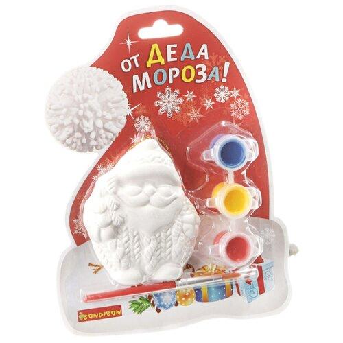 Купить BONDIBON Набор для росписи Елочные украшения Дед Мороз (ВВ1599), Роспись предметов