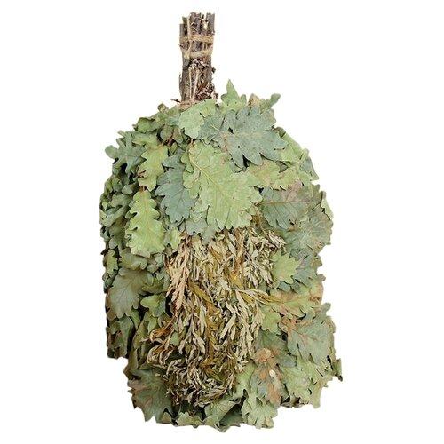 Добропаровъ Веник для бани Экстра из кавказского дуба с полынью зелeный