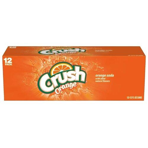 Газированный напиток Crush Orange, США, 0.355 л, 12 шт. orange crush 20rt