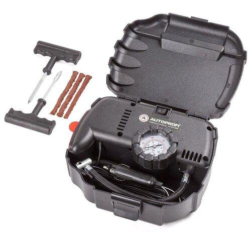 Автомобильный компрессор AUTOPROFI AP-070 Rem черный