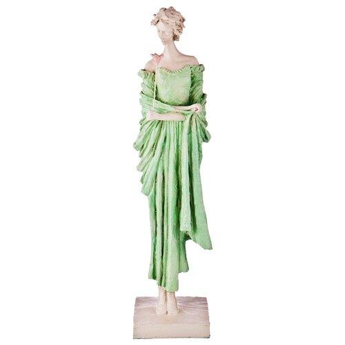 Фото - Статуэтка Lefard Пастель, 48 см белый/зеленый статуэтка lefard балерина 699 157 18 см белый серебристый