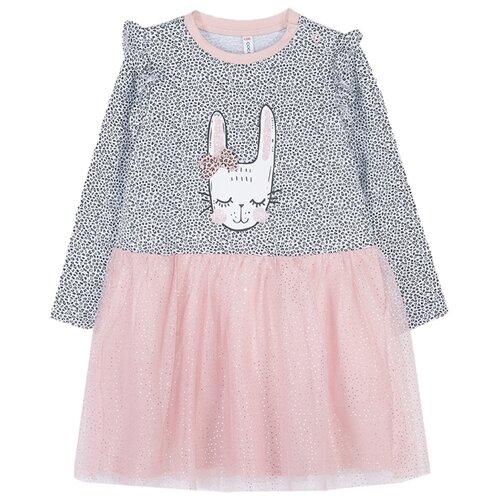 Платье COCCODRILLO FUNNY BUNNY размер 68, розовый