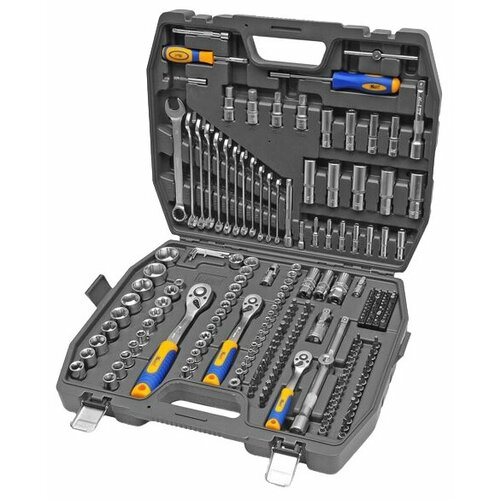 Набор автомобильных инструментов KRAFT (218 шт.) KT 700684