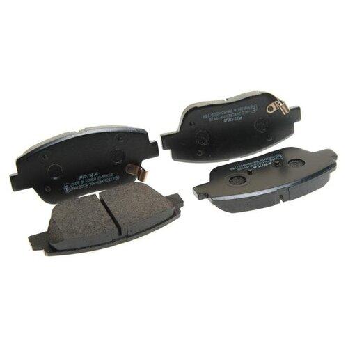 Фото - Дисковые тормозные колодки передние Frixa FPK28 для Hyundai Sonata, Kia Optima, Hyundai Grandeur (4 шт.) дисковые тормозные колодки передние frixa fpe019 для toyota camry 4 шт