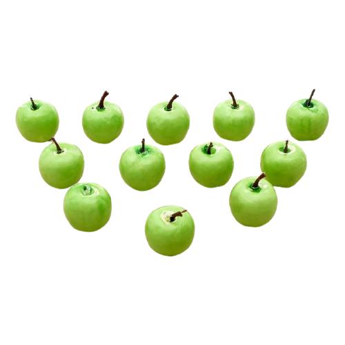 Купить Счетный материал IQ-ZABIAKA «Яблоки» 3868660 зеленый, Обучающие материалы и авторские методики