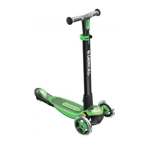 Фото - Кикборд Y-Volution Glider XL Deluxe (2019) черно-зеленый y glider xl green