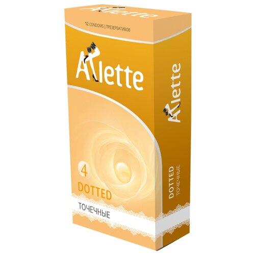 Презервативы Arlette Dotted (12 шт.) dotted self tie wide leg jumpsuit