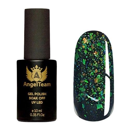 Гель-лак для ногтей AngelTeam Yucca Stars, 10 мл, yellow & green