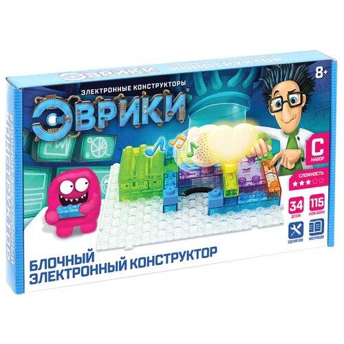 Электронный конструктор ЭВРИКИ Эврики 3584374 115 схем