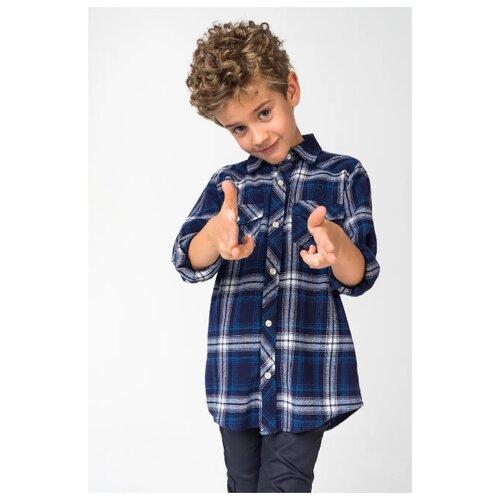 Купить Рубашка Ido размер 164, синий, Рубашки