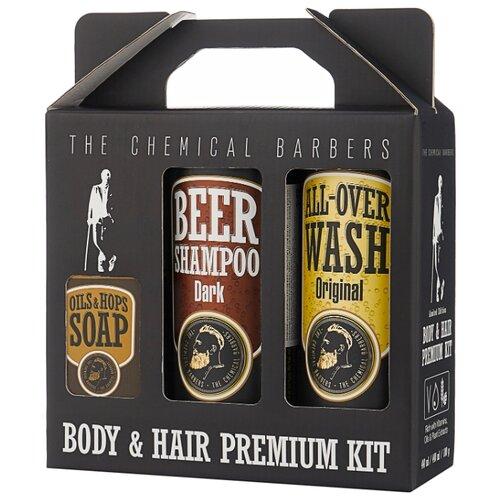 Набор The Chemical Barbers Beer shampoo gift set premium
