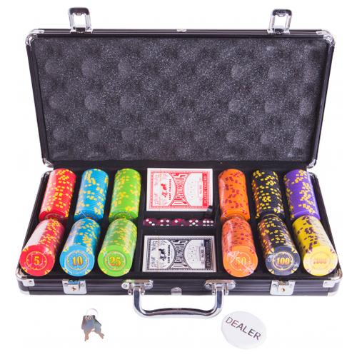 Набор для покера Partida Compas, 300 фишек