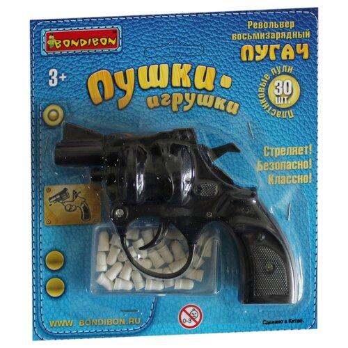 Купить Револьвер BONDIBON Пушки-игрушки (ВВ4214), Игрушечное оружие и бластеры
