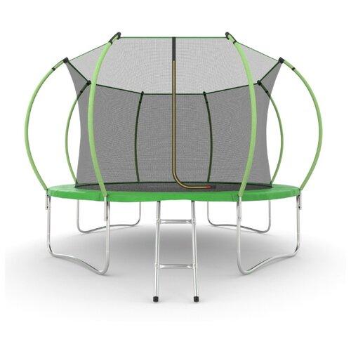 Каркасный батут EVO Jump 12FT Internal 366х366х265 см green