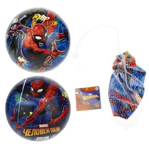 Фото - Мяч 1 TOY Мстители - Человек Паук синий ледянка 1 toy человек паук т59096 красный синий