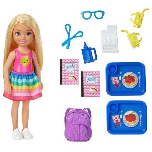 Купить Игровой набор Barbie Club Chelsea Doll and School Челси-блондинка в школе, GHV80, Куклы и пупсы