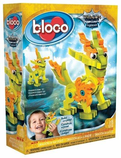 Конструктор Bloco Dragon 13001 Лайтникс