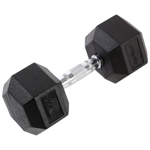 Гантель неразборная Starfit DB-301 12 кг черный