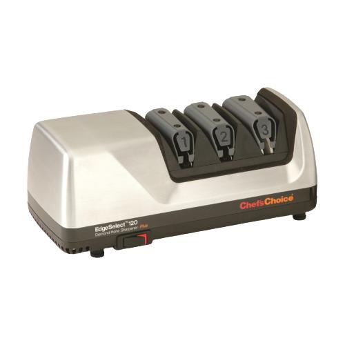 Электрическая точилка Chef's Choice CC120M серебристый/черный