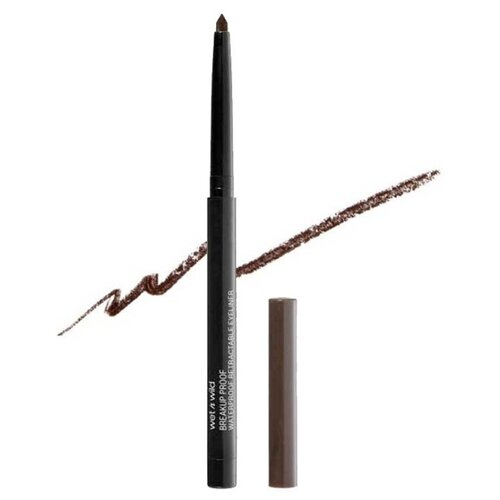 Wet n Wild Подводка для глаз Megalast Retractable Eyeliner, оттенок black brown
