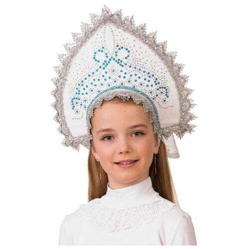 Купить Головной убор Батик Ледяной 5417, белый/синий, Карнавальные костюмы