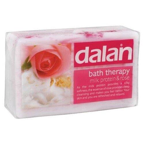 Купить Мыло кусковое Dalan bath therapy Молочный протеин и Роза, 175 г