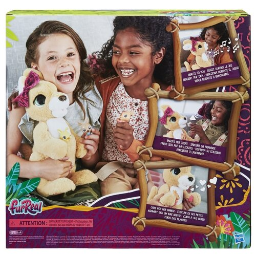 Фото - Игровой набор Hasbro FurReal Friends Кенгуру Джози и ее малыши E6724 джози