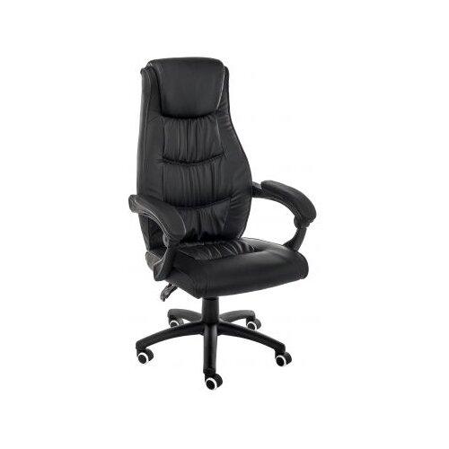 Компьютерное кресло Woodville Fred офисное, обивка: искусственная кожа, цвет: черный компьютерное кресло fred черное компьютерное кресло черный пласти