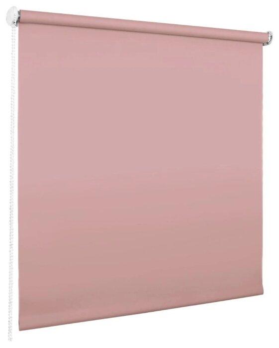 Рулонная штора Эскар миниролло Blackout (розовый кварц)