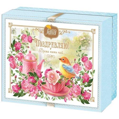 Чай черный Jarra Поздравляю! Время пить чай смородина и рябина, подарочная упаковка , 125 г свиридов г время возмездия