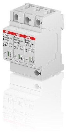 Устройство защиты от перенапряжения для систем энергоснабжения ABB 2CTB803873R3400