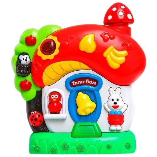 Развивающая игрушка Умка Веселый домик. Песни на стихи А.Барто и народные потешки мультиколор