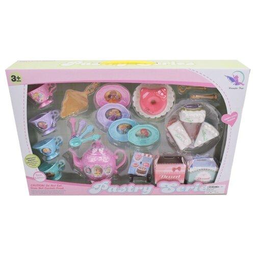 Набор продуктов с посудой Наша игрушка C99-3 разноцветный игрушка